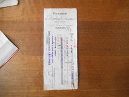 PARIS SOCIETE MARBRIERE D'AVESNES 15,17 & 19 AVENUE SAUMESNIL TRAITE DU 3 JUIN 1922 - Frankreich
