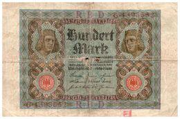 Billet > Allemagne >1920 > Valeur 100 - 100 Mark