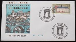 DEUTSCHLAND 1986 Mi-Nr. 1299 FDC - [7] Repubblica Federale