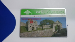 United Kingdom-(bta115)-heritage-(3)-carisbrooke Castle-(100units)-(527h)-price Cataloge5.00£-card+1card Prepiad Free - BT Advertising Issues