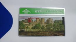 United Kingdom-(bta118)-heritage-(6)kenilworth Castle-(100units)-(527h)-price Cataloge5.00£-card+1card Prepiad Free - BT Advertising Issues
