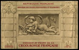 Lot N°3603b France Carnet Croix-Rouge N°2001 Année 1952 Neuf * TB - Booklets