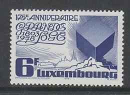 TIMBRE NEUF DU LUXEMBOURG - 175E ANNIVERSAIRE DE LA GRANDE LOGE DU LUXEMBOURG N° Y&T 922 - Francmasonería