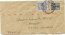 ARABIE SAOUDITE LETTRE PAR AVION DEPART RIYADH ?-8 1973 POUR LA FRANCE - Saudi Arabia