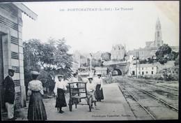44  PONTCHATEAU La Gare Le Tunnel  DREFFEAC  CROSSAC BESNé CAMPBON SAVENAY - Pontchâteau