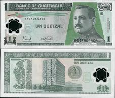 Guatemala 2006 - 1 Quetzal - Pick 109 UNC Polymer - Guatemala