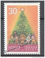 Ukraine 2001 Yvert 435H, Christmas/ New Year - MNH - Ukraine