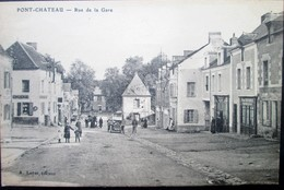 44  PONTCHATEAU  Rue De La GARE (2)  DREFFEAC  CROSSAC BESNé CAMPBON SAVENAY QUILLY - Pontchâteau