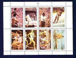 TIMBRE. BLOC. FEUILLET.  DENTELÉ. .............JO JEUX OLYMPIQUES 1976 MONTRÉAL CANADA - Estate 1976: Montreal