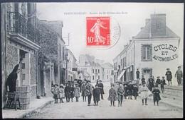 44  PONTCHATEAU Route De St GILDAS Des BOIS  1913  DREFFEAC  CROSSAC BESNé CAMPBON SAVENAY QUILLY - Pontchâteau