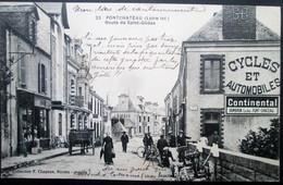 44  PONTCHATEAU Route De St GILDAS Des BOIS  PUB SAMBRON Cycles 1913  DREFFEAC  CROSSAC BESNé CAMPBON SAVENAY QUILLY - Pontchâteau