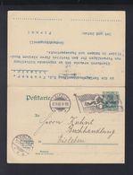 Dt. Reich GSK Mit Antwort Leipzig 1902 - Deutschland