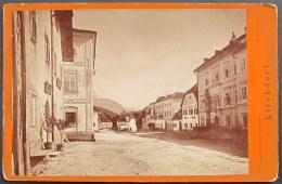 Austria / Österreich: Kirchdorf Am Krems, Hauptplatz U. Bezirksgericht  Cca.1880 - Places
