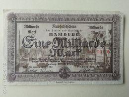 Hamburg 1 Miliardo Mark 1923 - [11] Emissioni Locali