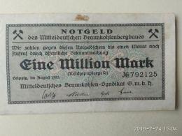 Leipzig  1 Milioni Mark 1923 - [11] Emissioni Locali