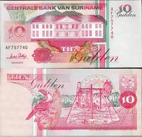 Suriname 1996 - 10 Gulden - Pick 137b UNC - Surinam