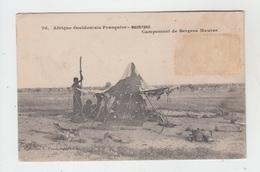 A..O.F. - MAURITANIE / CAMPEMENT DE BERGERS MAURES - Mauritania