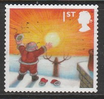 GB 2004 Christmas - Self-Adhesive 1st Stamp  Multicolored Sg:GB 2496 O Used - 1952-.... (Elizabeth II)