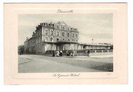14 Deauville Le Grand Hotel Cpa Animée - Deauville