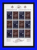 1957 - Liechteinstein - Mi. 360-361 - MNH - LI- 136 - Liechtenstein