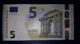 5 EURO Y004J6 DRAGHI GREECE SERIE YA Perfect UNC - EURO
