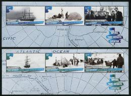 Ross Dependency 2015 Imperial Trans-Antarctic Expedition Ships 2 SS MNH - Unused Stamps
