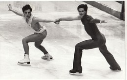 RUSSIA. PHOTO CHRONICLE OF TASS 9 SPORTS. FIGURE SKATING. SELEZNEVA AND MAKAROV. - Photographs