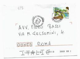 EDB335 - FRANCIA , Lettera Viaggiata  Il  10/9/2007 , Europa - Francia