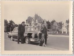 PHOTO LE POULIGUEN LA BAULE  AUTOMOBILE MERCEDES  CHIEN BERGER ALLEMAND BELLE VILLA - Lieux