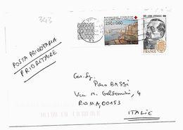 EDB343 - FRANCIA , Lettera Viaggiata  Il  2005 - Storia Postale