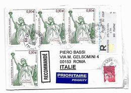 EDB346 - FRANCIA , Lettera Viaggiata  Il  2004 - Francia