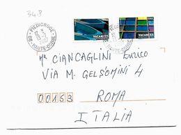 EDB348 - FRANCIA , Lettera Viaggiata  Il  2007 - Storia Postale