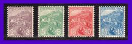 1919 - Monaco -  Sc.  B2 - B3 - B4 - B5 - MNH - MO-038 - Monaco
