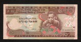 Banconota Etiopia 10 Birr - Ethiopie