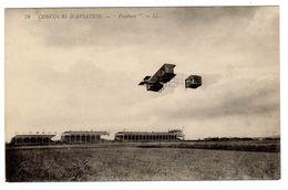 CPA Concours Aviation Pilote Avion Paulhan Né 1883 à Pézenas Pub Maison Beau à Rouen Au Dos éditeur LL N°76 - ....-1914: Précurseurs