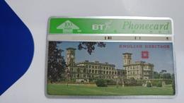 United Kingdom-(bta119)-heritage-(7)osborne House-(100units)-(527g)-price Cataloge5.00£-card+1card Prepiad Free - BT Advertising Issues