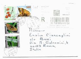 EDB368  - CECOSLOVACCHIA , Lettera Del 2/3/2007 RACCOMANDATA - Svizzera