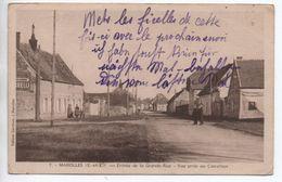 MAROLLES (E.-ET L.)  (28) - ENTREE DE LA GRANDE RUE - VUE PRISE AU CARREFOUR - Sonstige Gemeinden