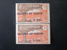 Cameroon Cameroun CAMERUN 1940-43 TIMBRES DE 1925-39 SURCHARGES OEUVRES DE GUERRE MNH YVERT N.234 - Kameroen (1915-1959)
