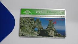 United Kingdom-(bta121)-heritage-(9)tintalgel Castle-(100units)-(527h)-price Cataloge5.00£-card+1card Prepiad Free - BT Advertising Issues