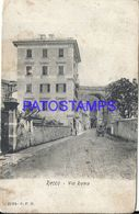 90458 ITALY RECCO STREET ROMA SPOTTED CUT POSTAL POSTCARD - Unclassified