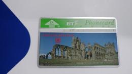 United Kingdom-(bta122)-heritage-(10)whitby Abbey-(100units)-(567b)-price Cataloge5.00£-card+1card Prepiad Free - BT Advertising Issues