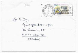 EDB377  - SPAGNA , Lettera Del 2001 - 1931-Oggi: 2. Rep. - ... Juan Carlos I
