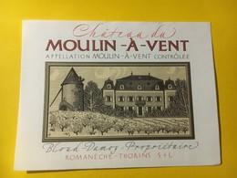 7100 - Château Moulin à Vent Bloud-Damoy - Beaujolais