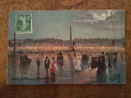 Illustrateur - Raphael Tuck - Oilette, Série 951 N°45 - Paris - Place De La Concorde - Tuck, Raphael