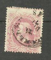 Belgique N°34 - 1869-1883 Leopold II