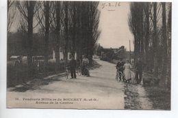 POUDRERIE MILITAIRE DU BOUCHET (S.-ET-O.)  (28) - AVENUE DE LA CANTINE - France
