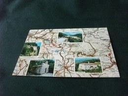 CARTA GEOGRAFICA RIETI E DINTORNI VALLE SANTA DI RIETI SANTUARI FRANCESCANI - Carte Geografiche