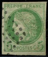 """Lot N°5180a Colonies Générales N°17a Papier Filigrané """"LACROIX"""" Oblitéré Qualité TB - Cérès"""