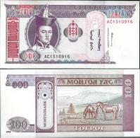Mongolia 1994 - 100 Tugrik - Pick 57 UNC - Mongolia